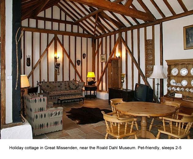 holiday cottage in Great Missenden, Chiltens, Buckinghamshire