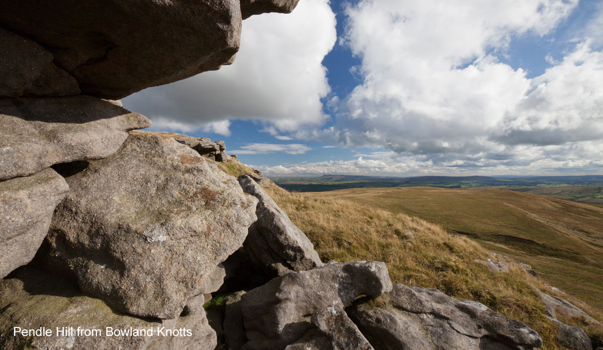Pendle Hill from Bowland Knotts - Forest of Bowland