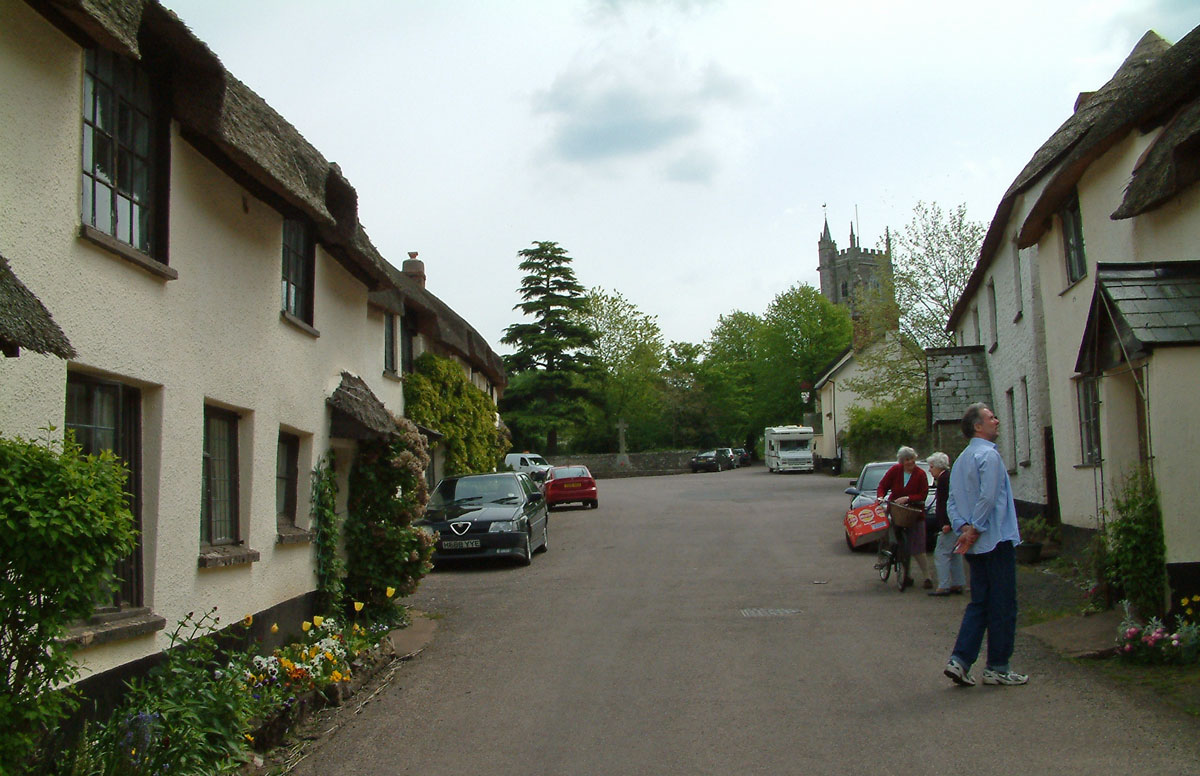thatched hamlet of Broadhembury in east Devon