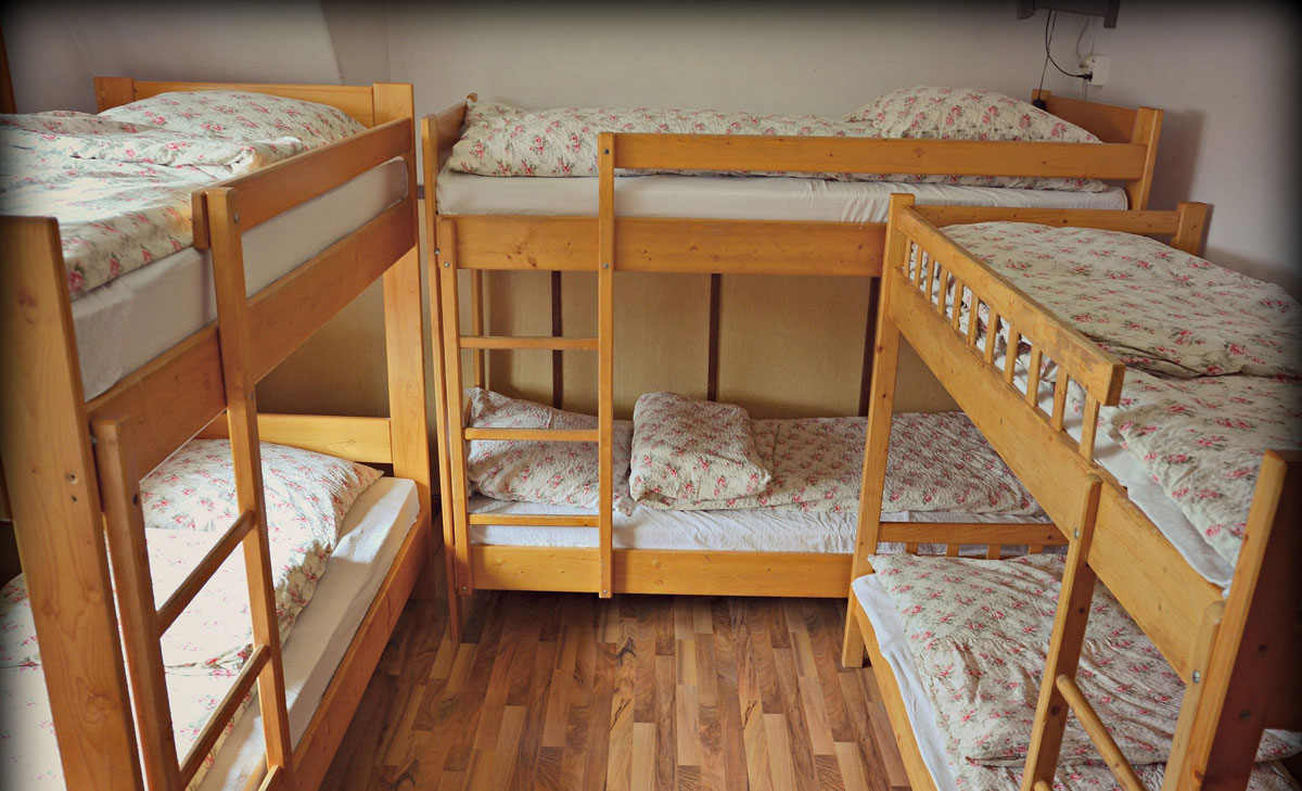 bunk beds holiday cottage