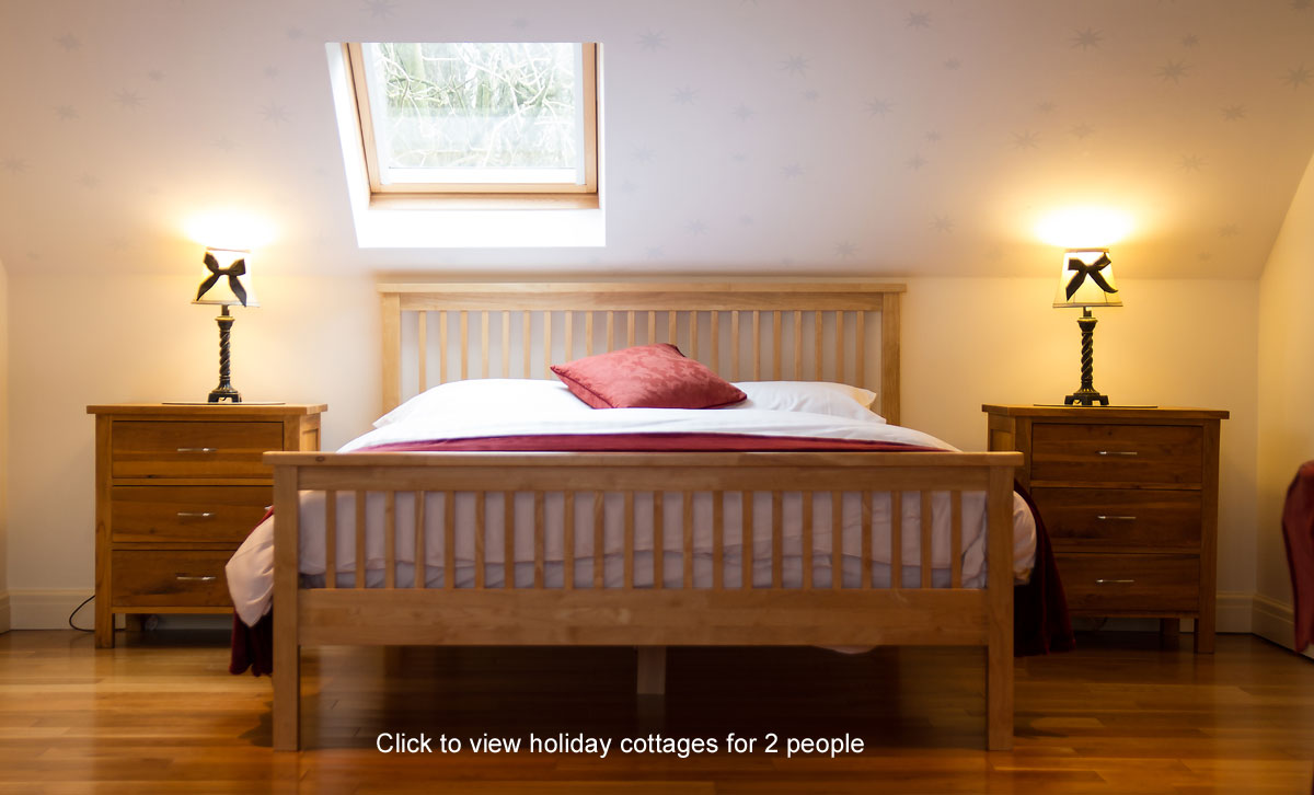 holiday cottages for 2 people