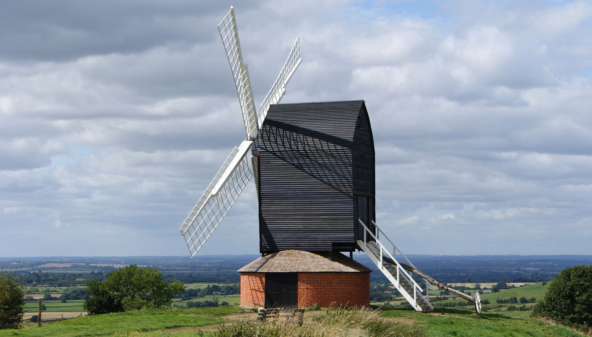 windmill holiday home