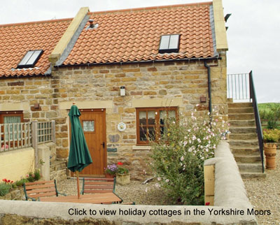 list of holiday cottages Yorkshire Moors